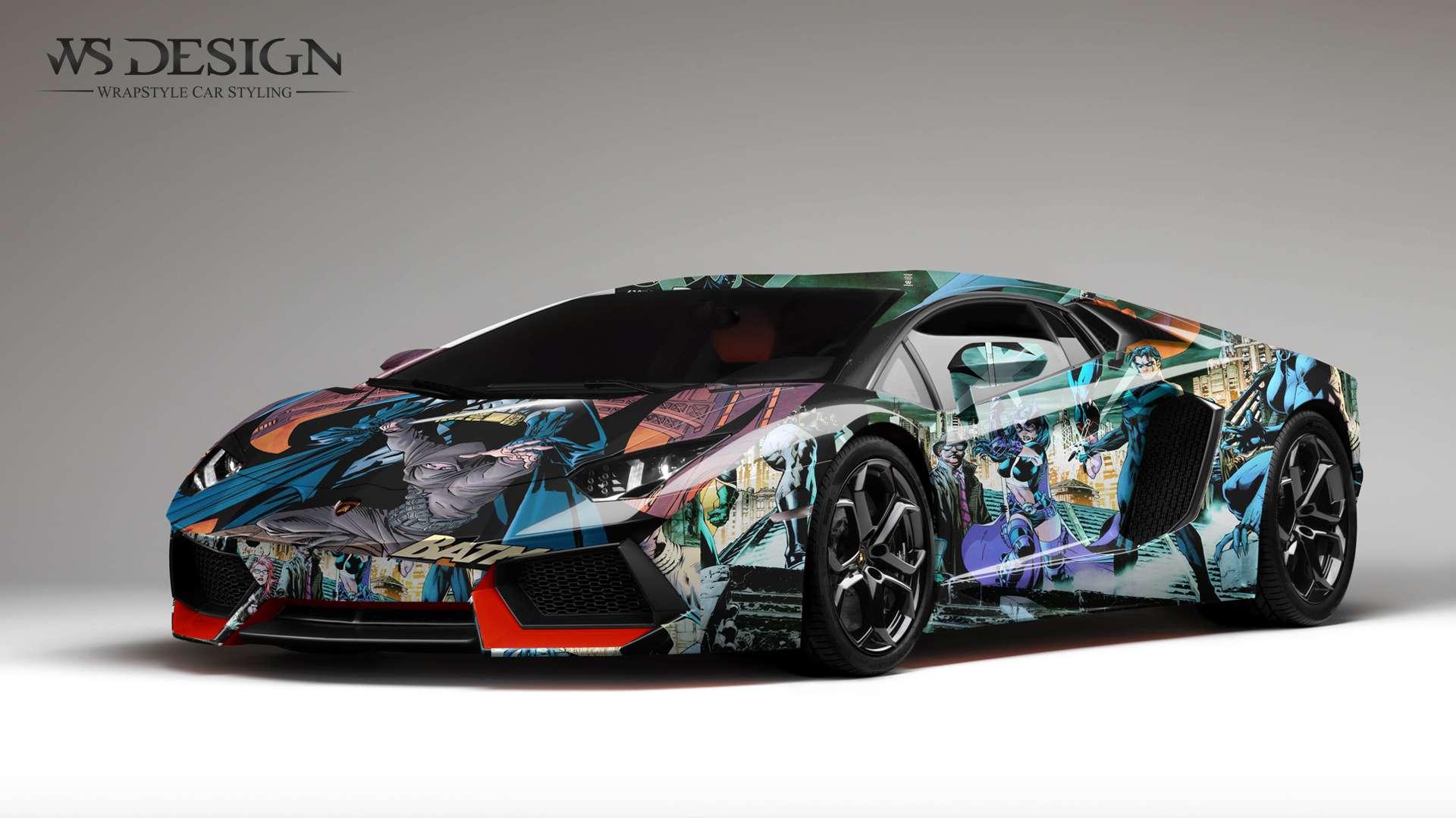 Inkjet Car Wrap